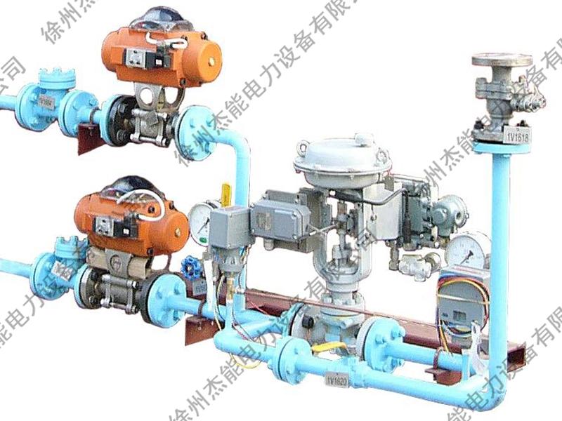 华能集团电厂锅炉燃油管路和推进装置
