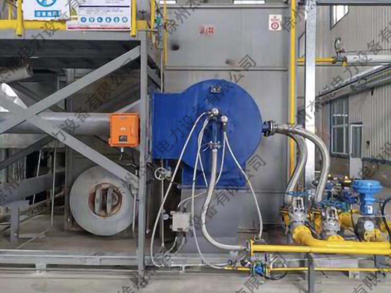 供热锅炉低氮燃气燃烧器系统