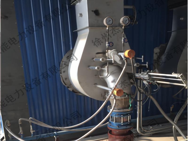 工业煤粉锅炉低氮燃烧系统